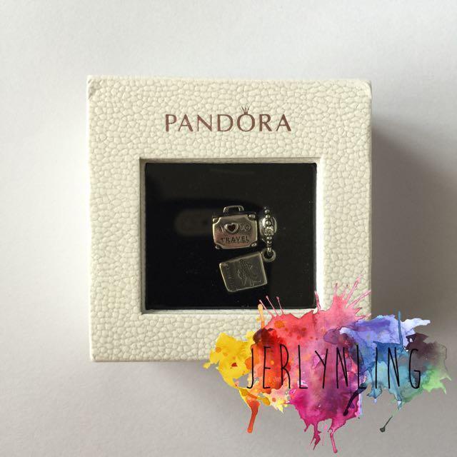 Instock Pandora I Love To Travel Charm Set Women S