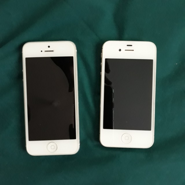 iPhone 4s and 5 16gb