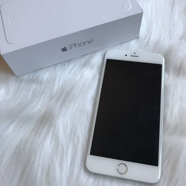 IPHONE 6 plus 64G銀色