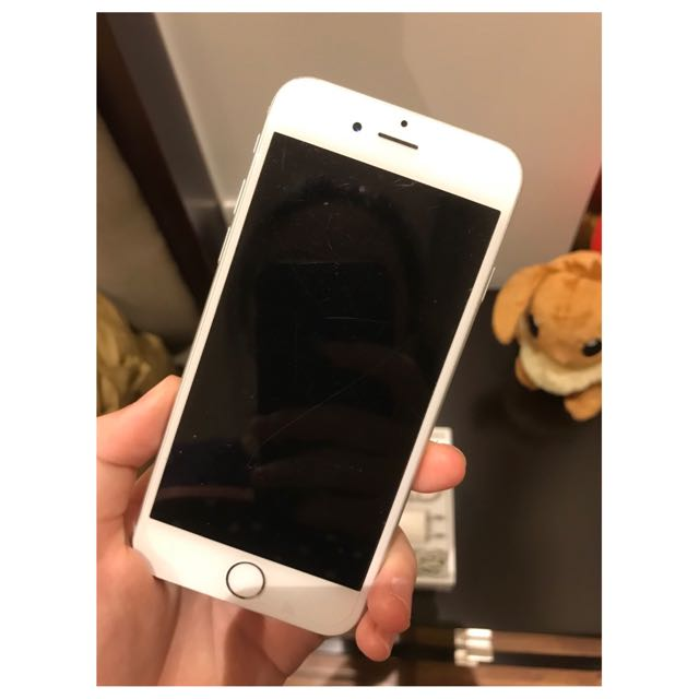 iPhone 6 silver 64GB afe5899bc1
