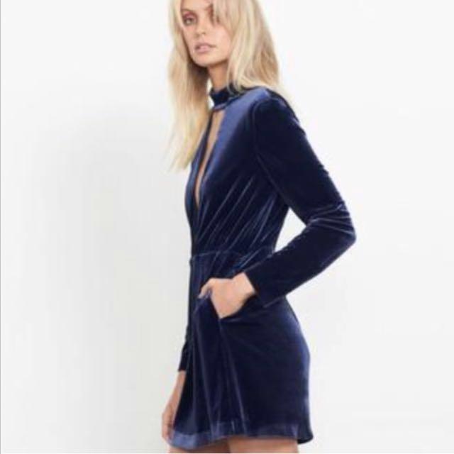 Isla velvet dress