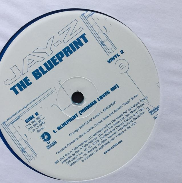 Jay z blueprint vinyl lp blue colour promo copy music media jay z blueprint vinyl lp blue colour promo copy music media cds dvds other media on carousell malvernweather Gallery