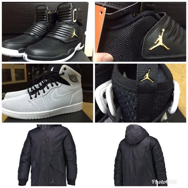 Jordan 1.Jordan 23.Jordan羽絨外套 風衣