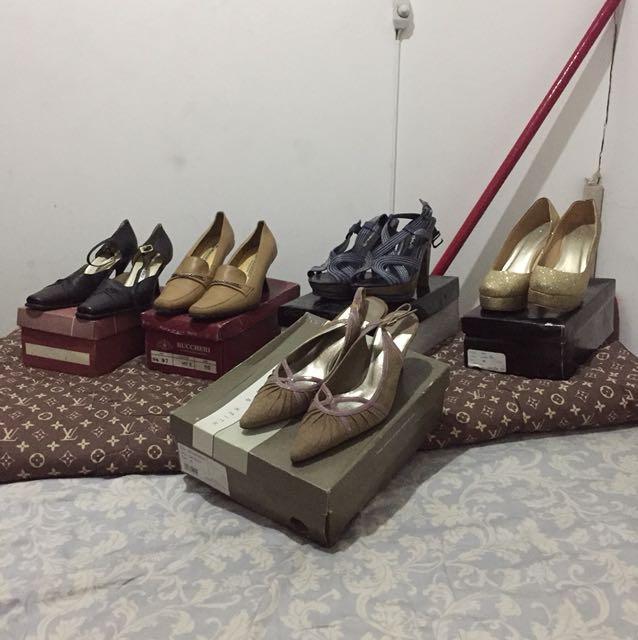Jual Borongan sepatu Wanita(5 sepatu)