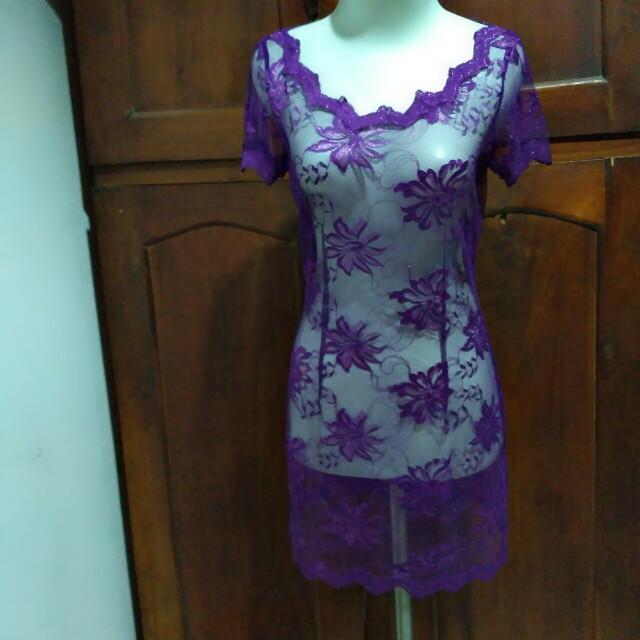 Kebaya Purple