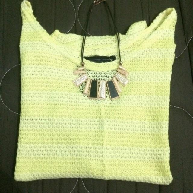 Knitted Off Shoulder