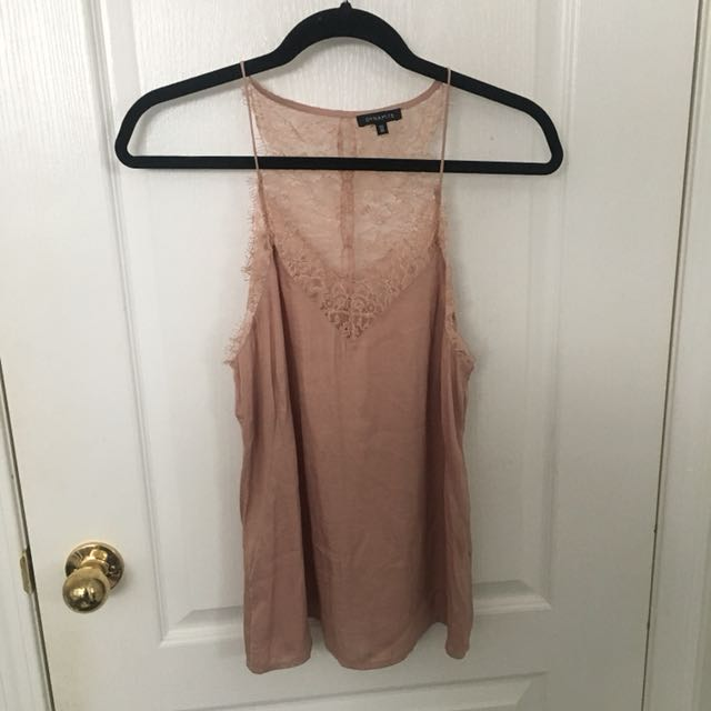 Lace Silky Tank Top