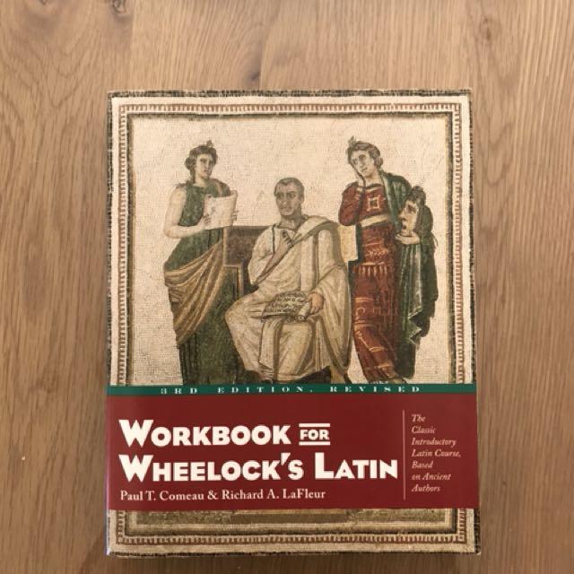 LATIN 100, 101, and 200. Wheelock's Latin