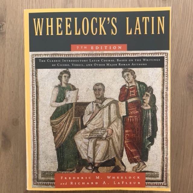 LATIN 100, 101 and 200. Wheelock's Latin Workbook