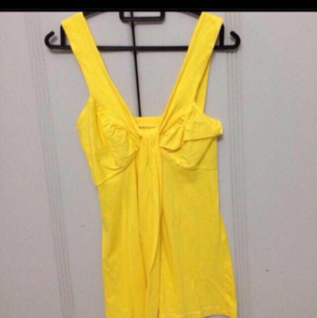 Lemon yellow top
