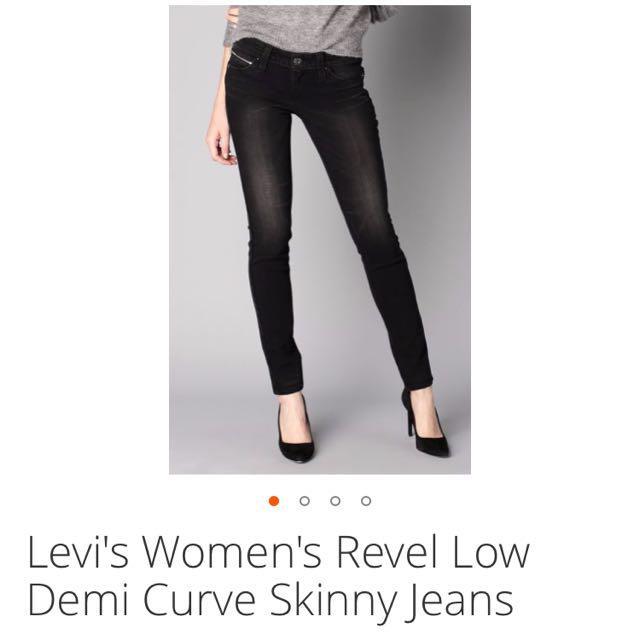Levi's Revel Demi Curve Skinny Jeans