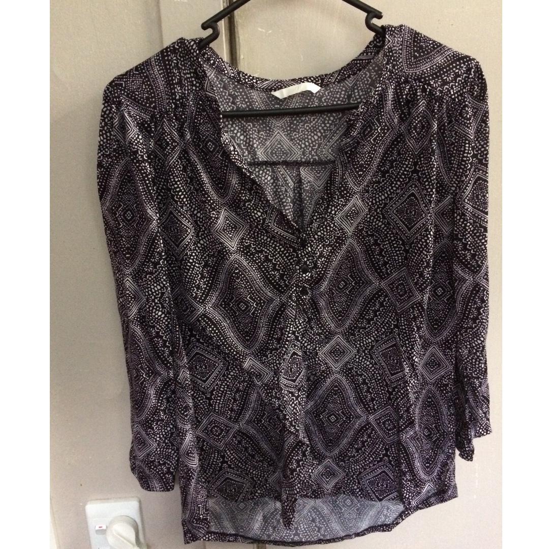 Light H&M blouse
