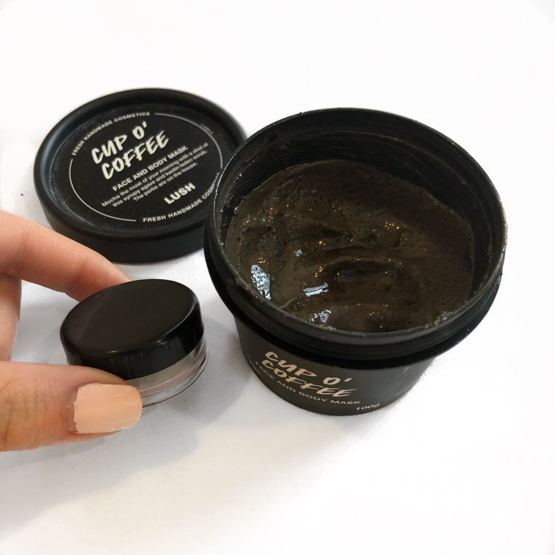 Lush Cup O' Coffee Share in a jar