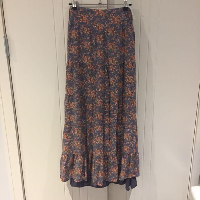 (M) Forever New maxi skirt