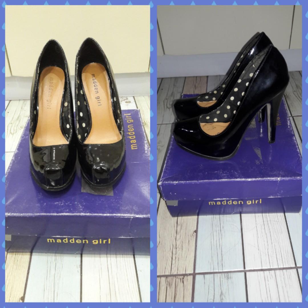 Madden Girl (by Steve Madden) Classic Black High Heeled Pumps