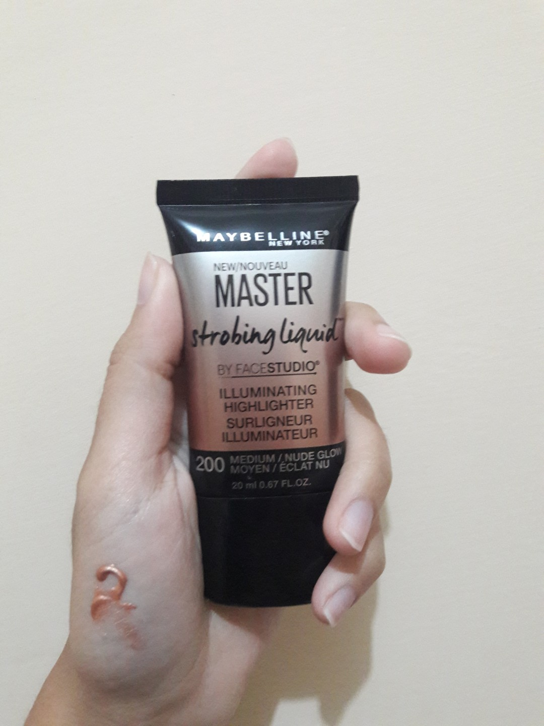 Mastee Strobing Cream - Medium/Nude Glow