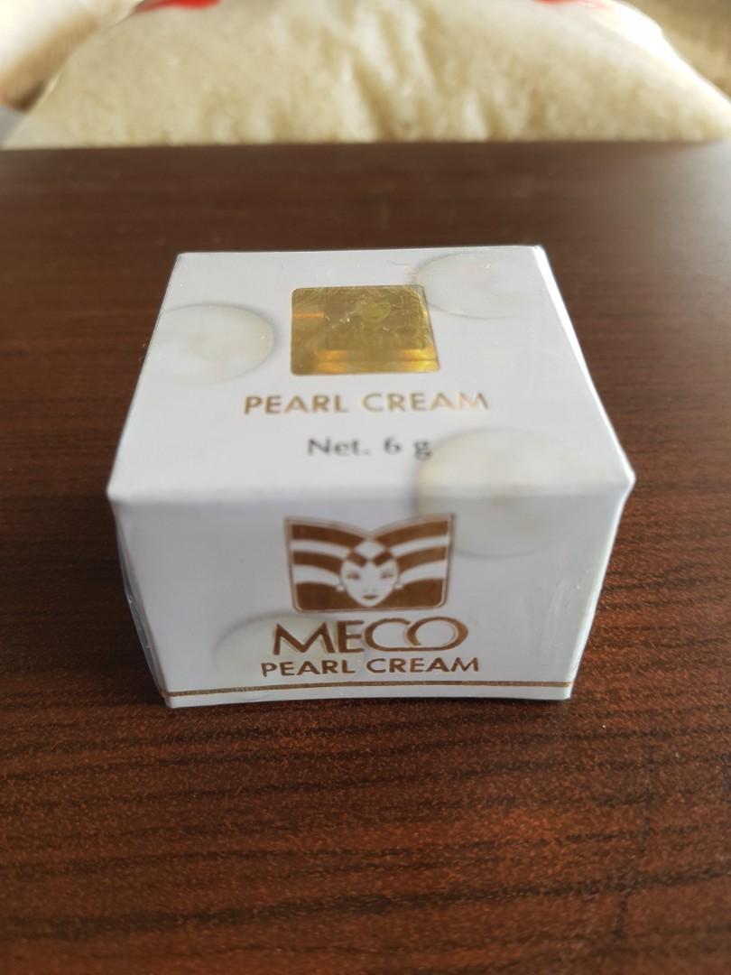 Meco pearl cream krim muka pelembab