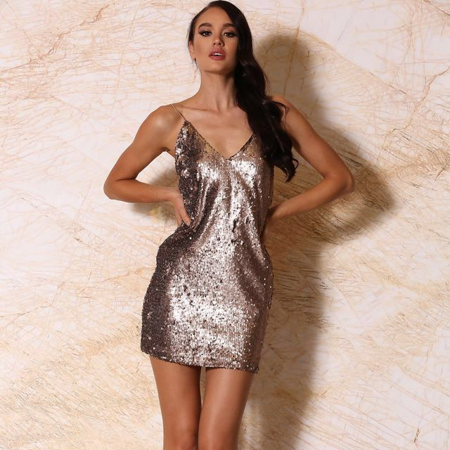 Meshki sequin dress