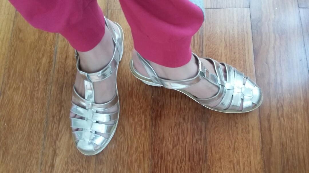 Michelle Silver Shoes