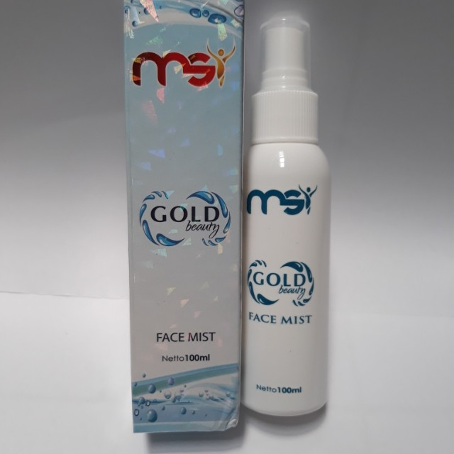 MSI GOLD BEAUTY FACE MIST