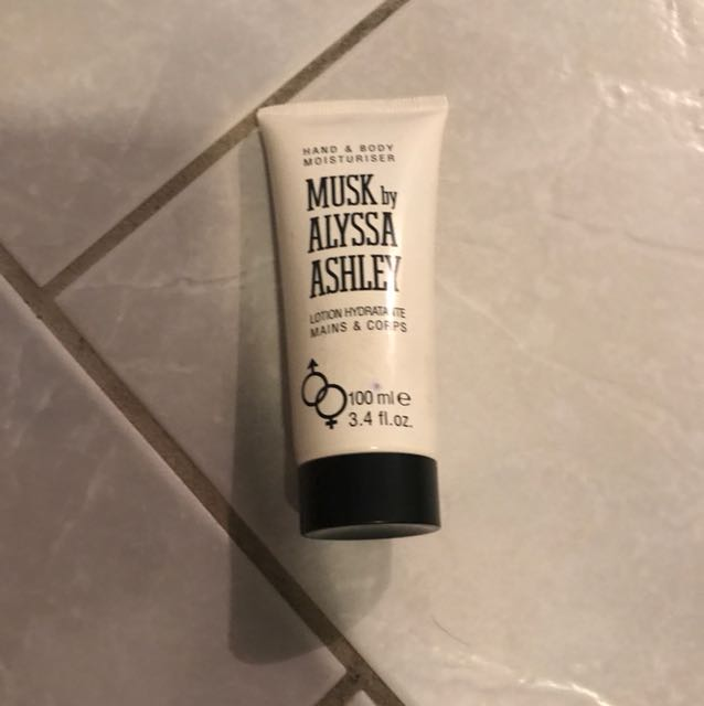 Musk by Alyssa Ashley Lotion