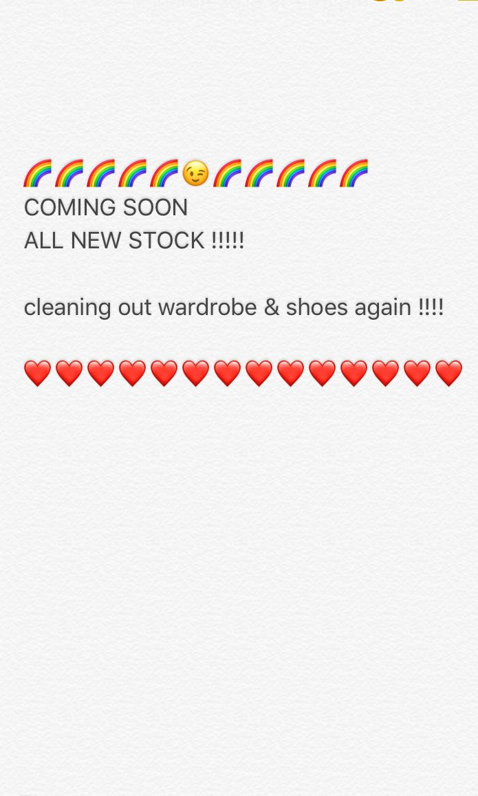 New items coming soon!!!!!!!