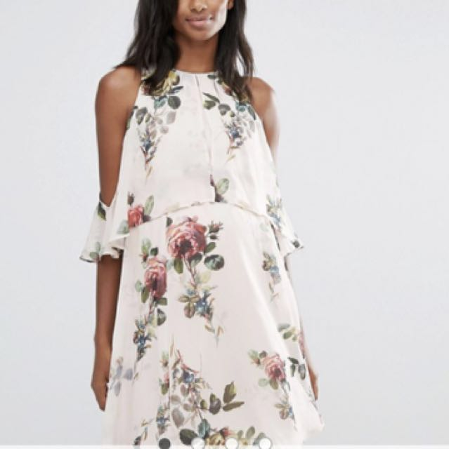 7be56c14014c4 New with tags ASOS floral maternity dress size 8, Babies & Kids ...