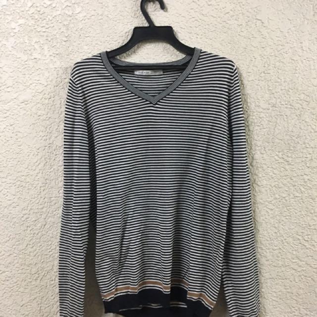 (New) Zara 條紋 針織衫 42號