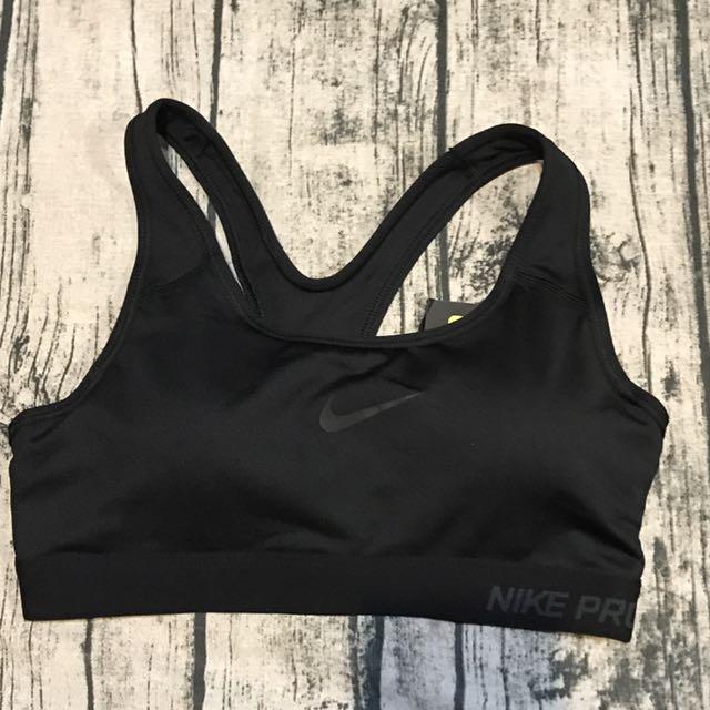 全新正品NIKE 運動內衣,S號,平量,胸*下圍cm:33,30