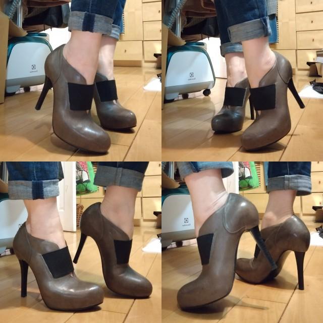 Nine West 牛皮踝靴👢 -6號