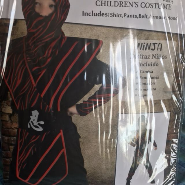 Ninja Children's Costume