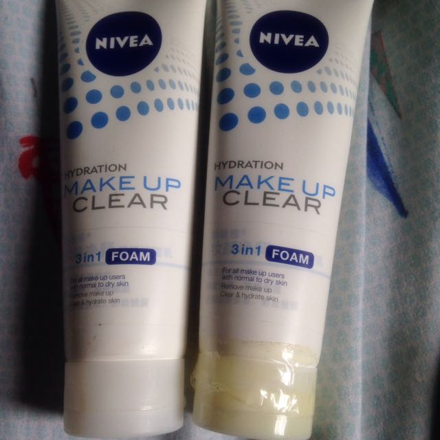 Nivea hydration facial wash