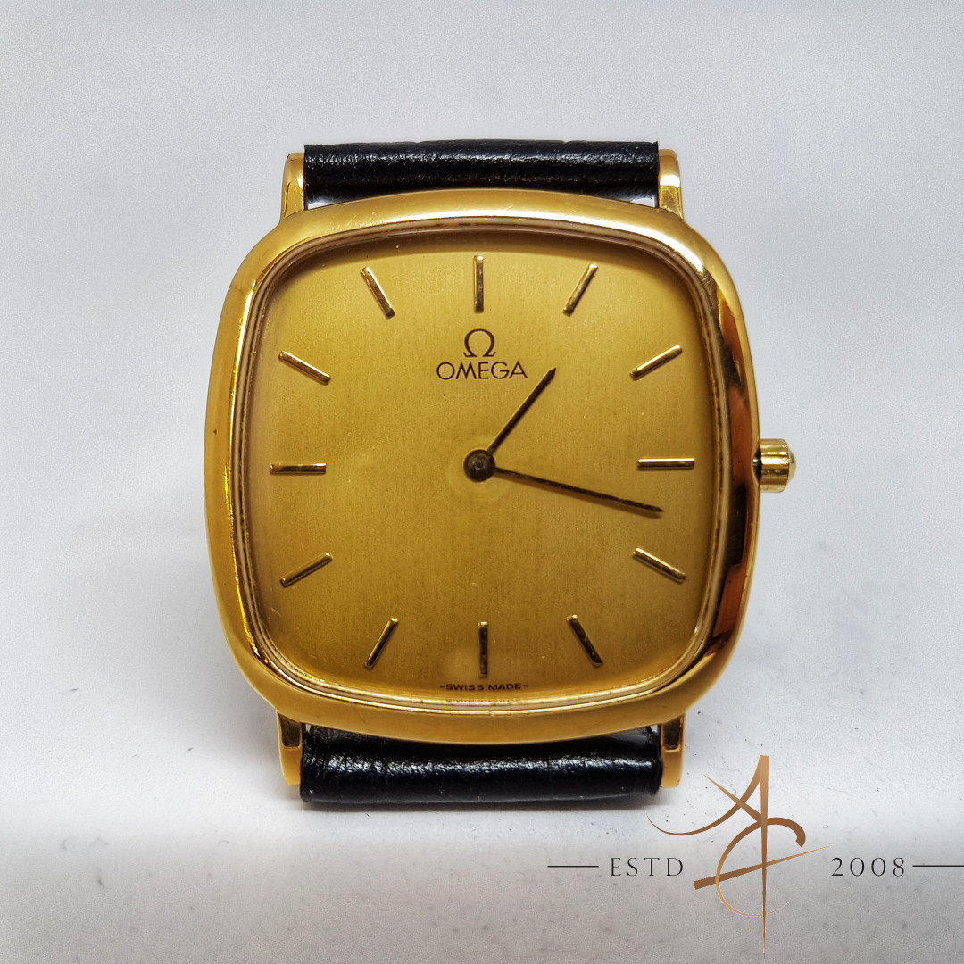 Fantastyczny Omega Deville Quartz Vintage Watch, Luxury, Watches on Carousell KY85