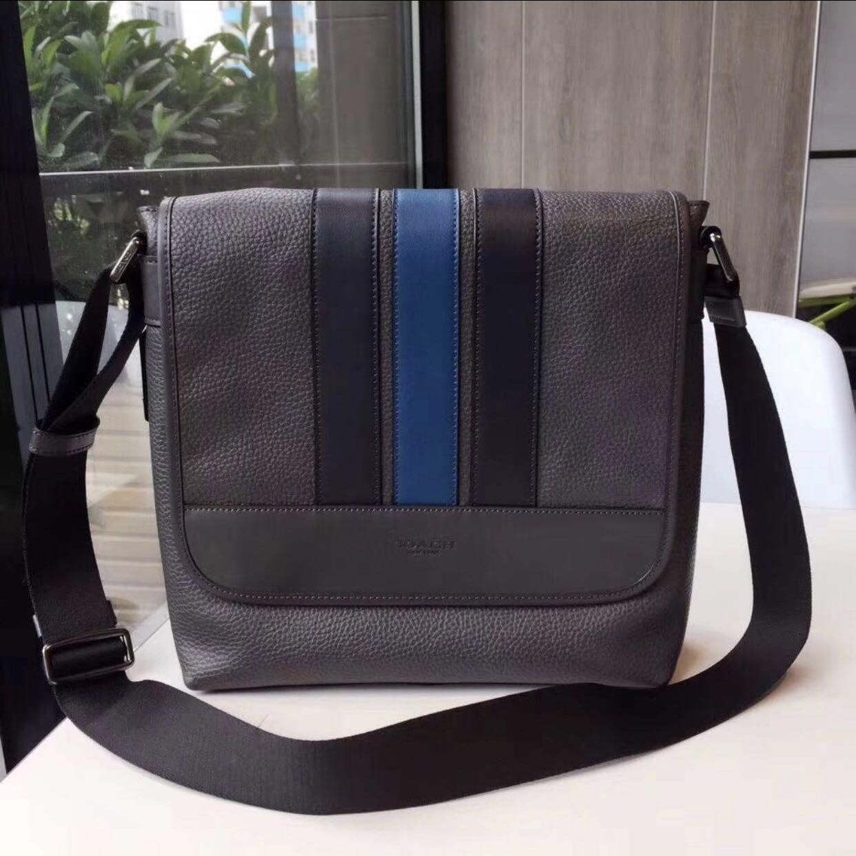 9a2f4675e Original coach men crossbody bag handbag sling bag Messenger bag ...