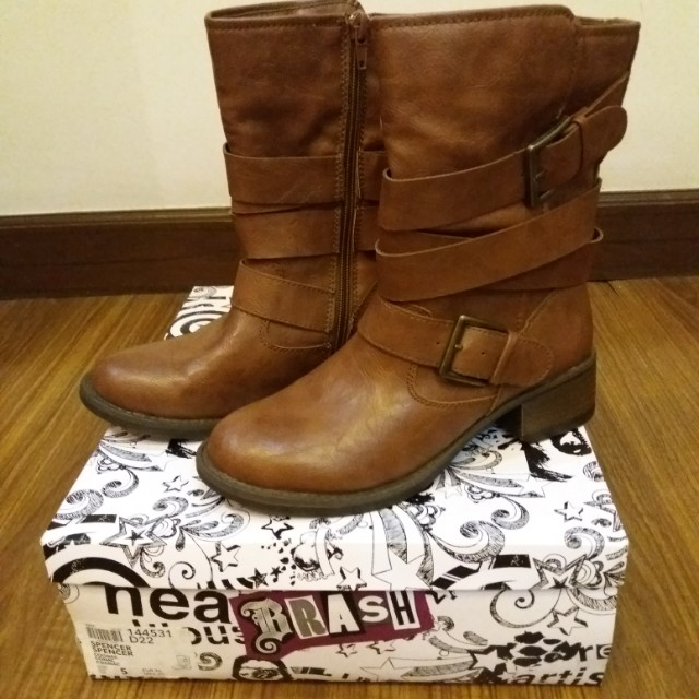 Payless Brash boots brown