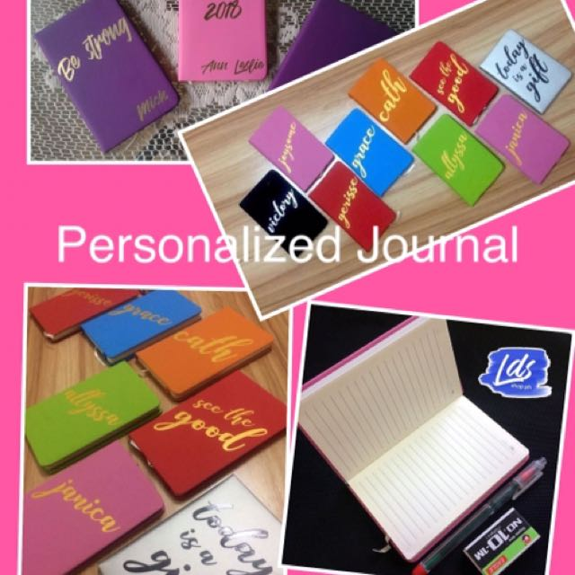Personalize Journal Notebook