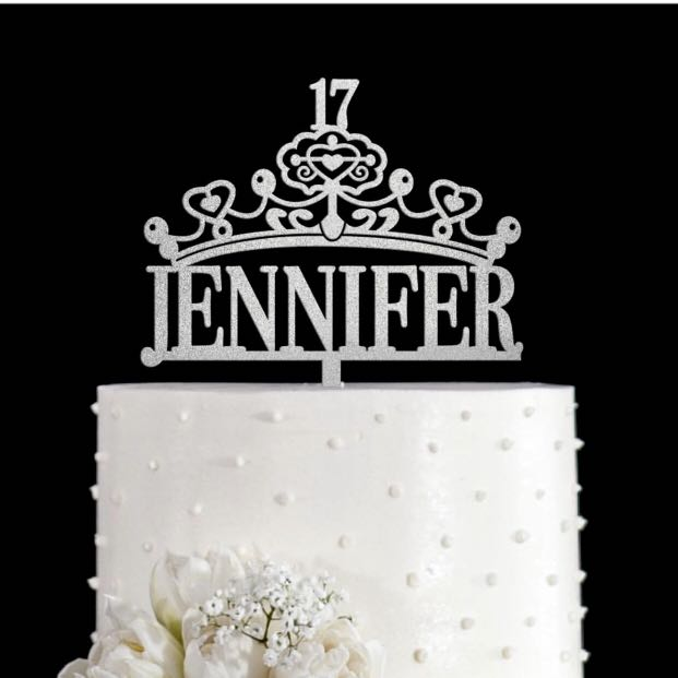 Excellent Personalized Birthday Cake Topper Design Craft Others On Carousell Funny Birthday Cards Online Alyptdamsfinfo