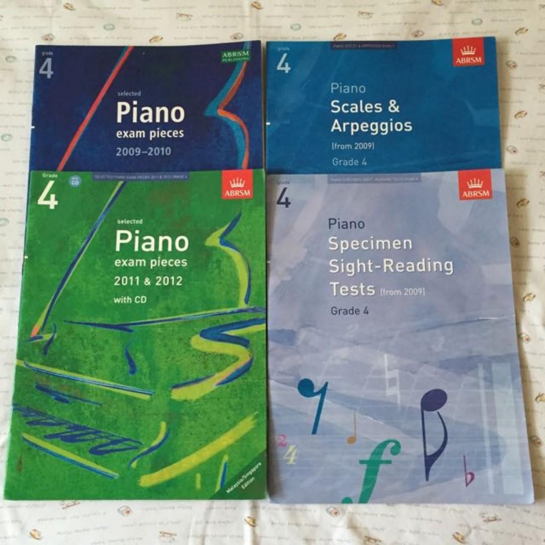 Piano Grade 4 Exam Bundle