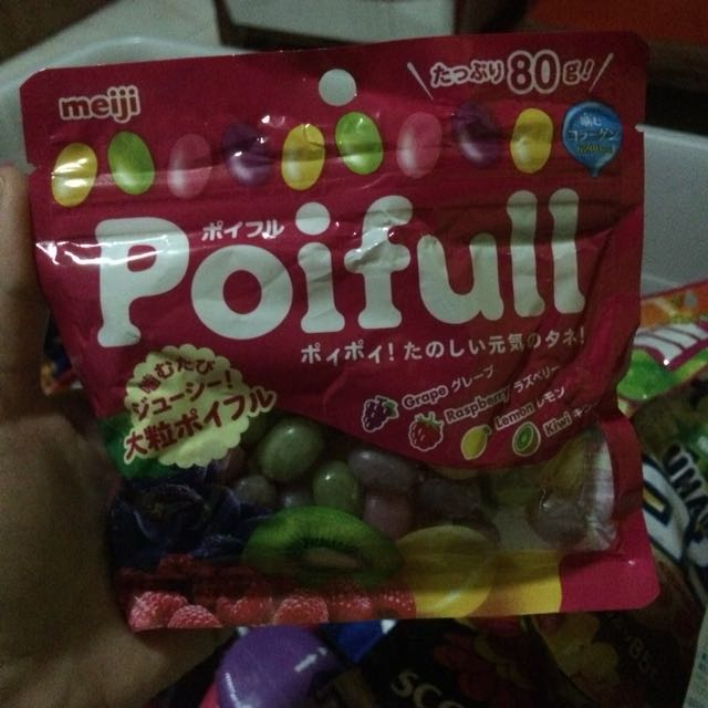 Poifull gummy candies