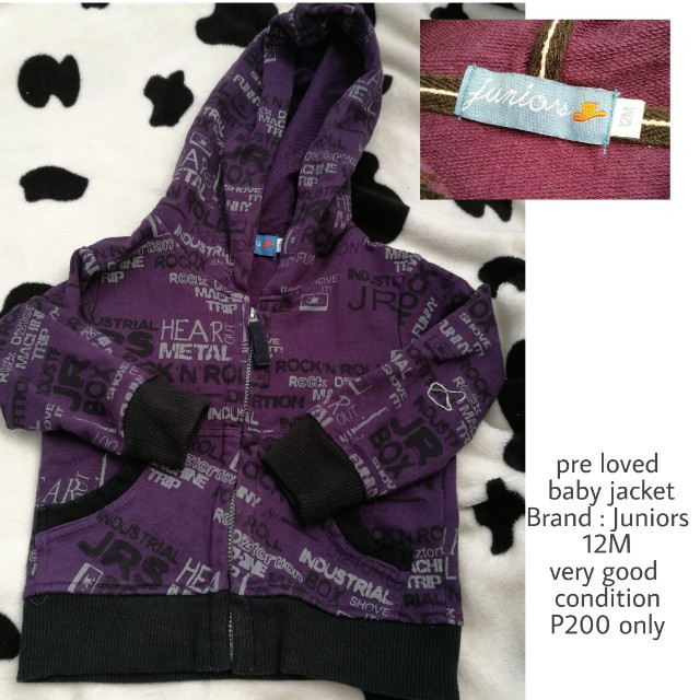 pre loved baby jacket