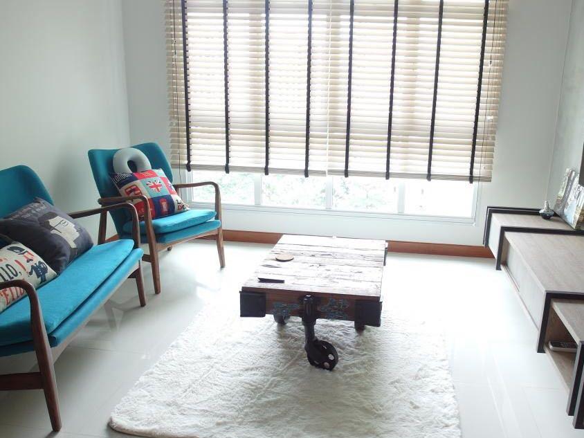 Preloved Wooden Leg Sofa 3 Seater Furniture Sofas On Carousell