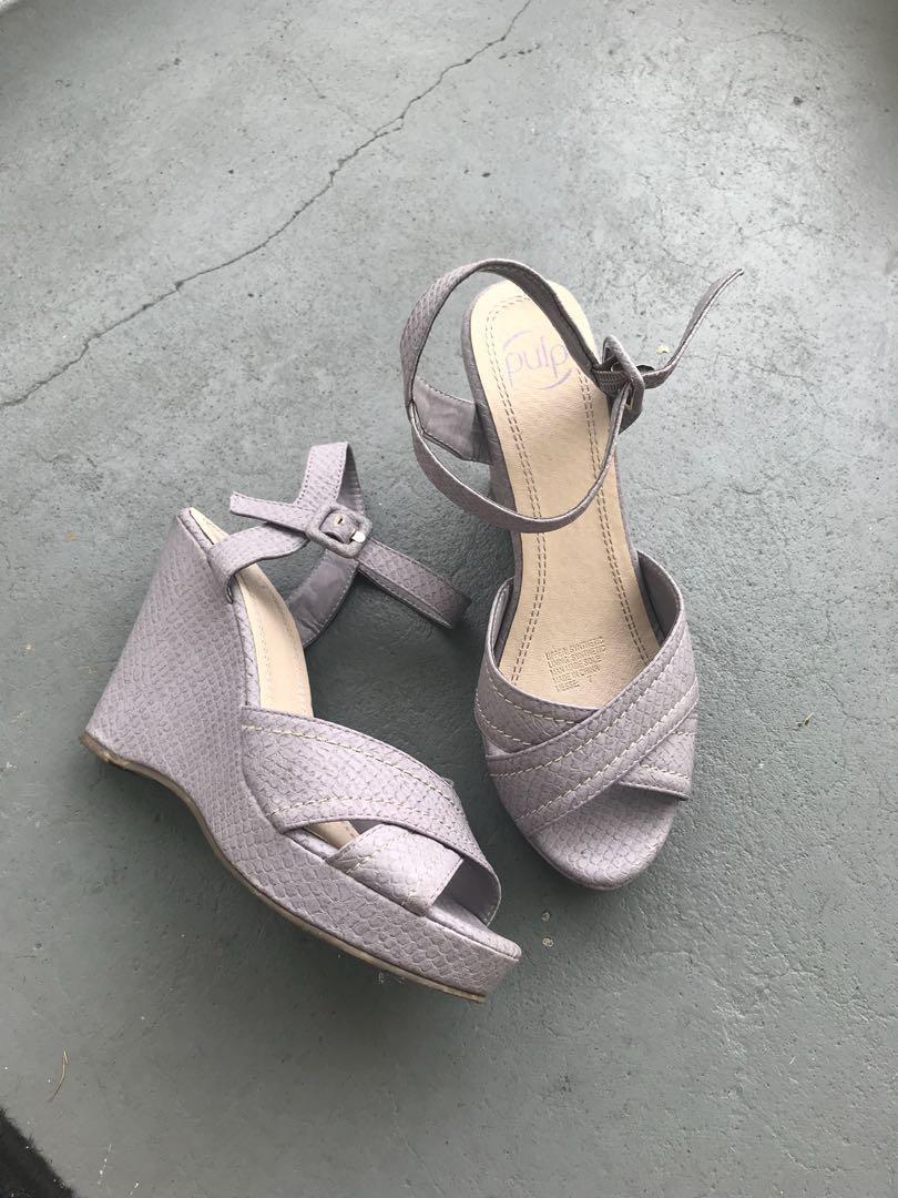 PULP Lilac wedges heel super comfy!!