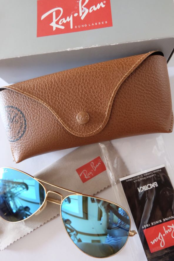 Ray-Ban Flash Lens Blue