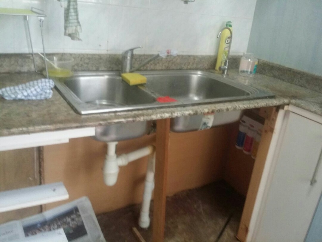Repair of rotten kitchen sink cabinets home appliances on carousell