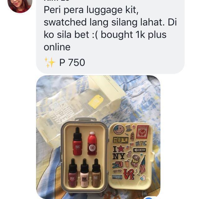 REPRICED ‼️ peri pera Luggage Kit
