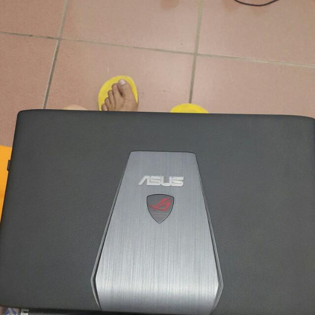 ROG GL552JX gaming laptop