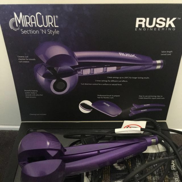 RUSK Purple Miracurl Gift pack