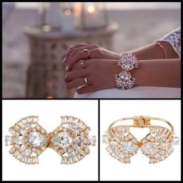 Samantha Wills Dark Romance Bohemian Bridal Cuff/Bangle BNWT RRP $249