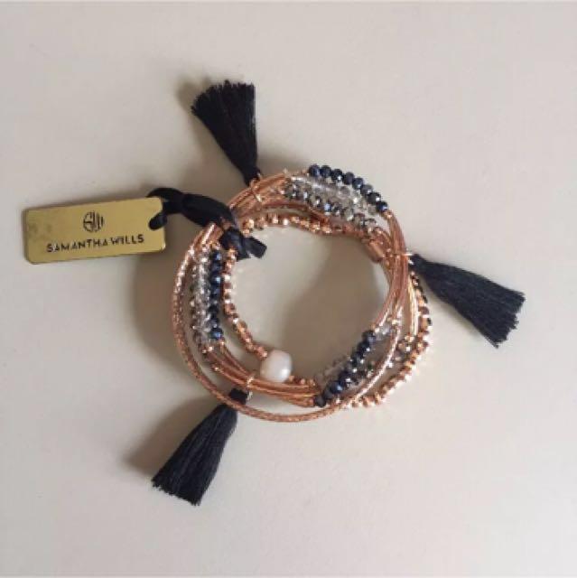 Samantha Wills Gemini Feels Bohemian Bracelet Set BNWT RRP $229