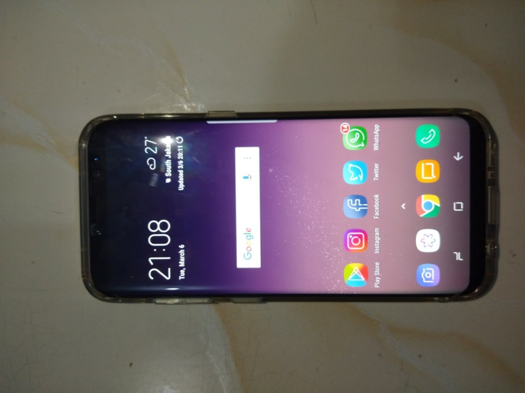 SAMSUNG GALAXY S8 ROSEPINK (LIMITED EDITION)